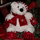 Christmas Teddy by ArtBee