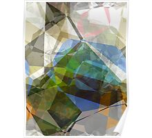 Abstract Polygons 221 Poster