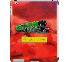 Steam Locomotive - The Flying Scotsman 1923, iPad case iPad Case/Skin