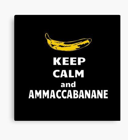 Ammaccabanane Canvas Print