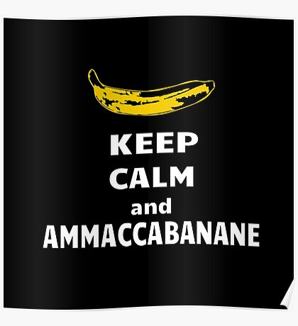 Ammaccabanane Poster