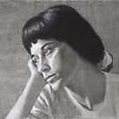 Portrait of Alaleh by dbclemons