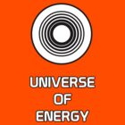 White Dot Universe Of Energy by AngrySaint