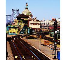 brooklyn metro Photographic Print