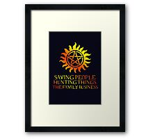 The Family Business III Framed Print
