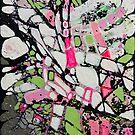 White abstract by Miroslava Balazova Lazarova