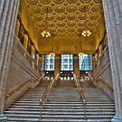 Union Station Steps - Chicago by Adam Bykowski