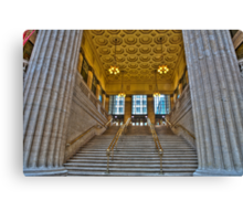 Union Station Steps - Chicago Canvas Print