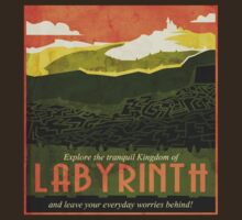 Explore the tranquil Kingdom of Labyrinth by QueenHare
