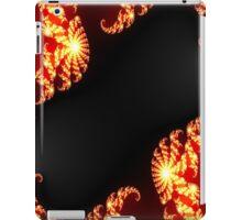 Black Fire Frame iPad Case/Skin