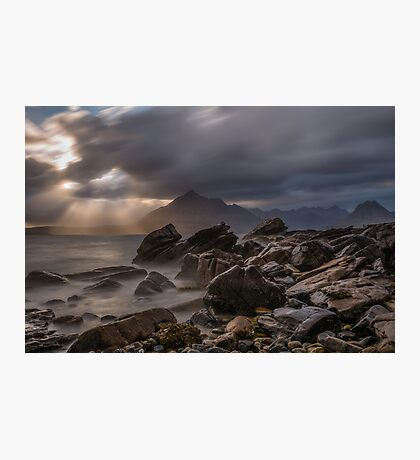 Elgol / Black Cuillin - Isle of Skye Photographic Print