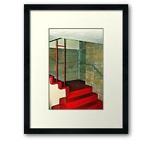 Frank Lloyd Wright Designed Stairway, Florida Southern College, Lakeland, Florida Framed Print