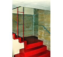 Frank Lloyd Wright Designed Stairway, Florida Southern College, Lakeland, Florida Photographic Print