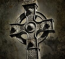 Gothic Celt Cross by Tanya Davis