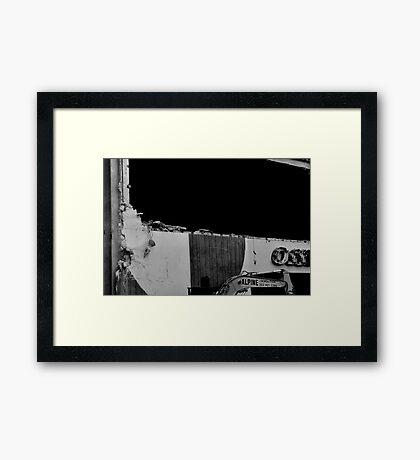 Office Depot Gone #3 Framed Print