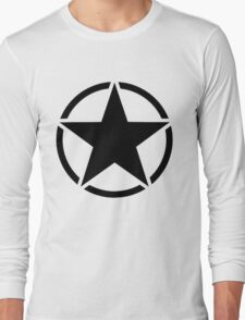 Military Invasion Star Long Sleeve T-Shirt
