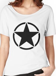 Military Invasion Star Women's Relaxed Fit T-Shirt