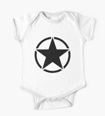 Military Invasion Star One Piece - Short Sleeve