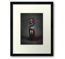 The Courtier Framed Print