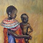 Masai Mom 2 by Marie Theron