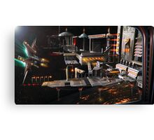 Space Station Landing Bay Canvas Print