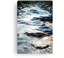 Water Rush Canvas Print