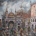 San Marco - Rainy Afternoon by Stefano Popovski