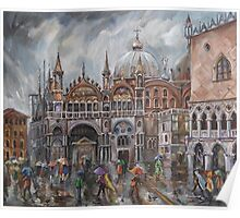 San Marco - Rainy Afternoon Poster