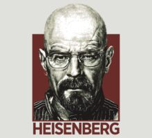 Breaking Bad: HEISENBERG [RED] by wellastebu