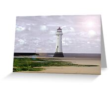 Lens Flare Pop 3 Greeting Card