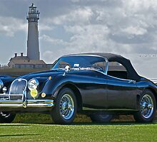 195X Jaguar XK120 Roadster by DaveKoontz