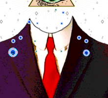 The Son of All Seeing Eye Sticker