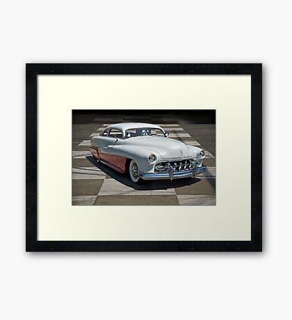 1951 Mercury Classic Custom Framed Print