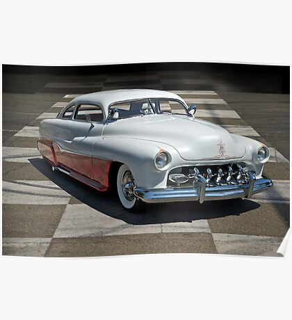 1951 Mercury Classic Custom Poster