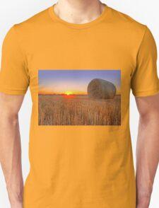 Bales at Sunset 1 T-Shirt