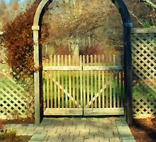 The Birch Wood Beyond the Gate by RC deWinter