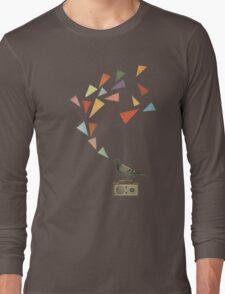 Pigeon Radio Long Sleeve T-Shirt