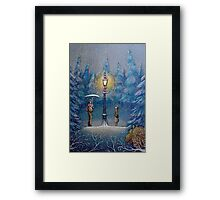 Narnia Magic Lantern Framed Print