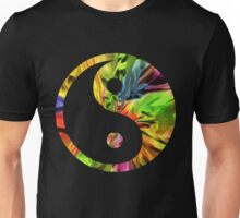 Rainbow Yin and Yang Unisex T-Shirt