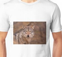 Close up of Wolf Unisex T-Shirt