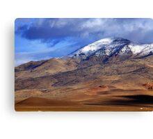 Tule Peak Canvas Print