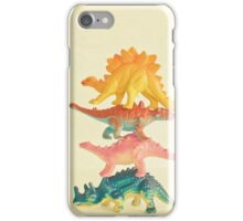 Dinosaur Antics iPhone Case/Skin