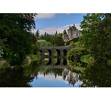 Drummond Castle, Crieff - Perthshire Photographic Print