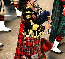 Pipe Major - Royal Scots Dragoon Guards (Carabiniers and Greys) by Colin Shepherd