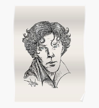 Portrait of a Consulting Detective Poster