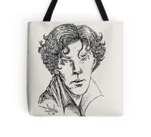 Portrait of a Consulting Detective Tote Bag