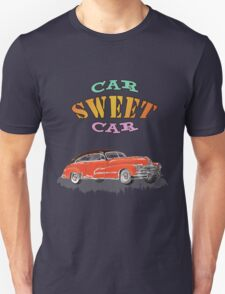 Retro Vintage Style : Car Sweet Car T-Shirt