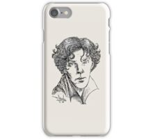 Portrait of a Consulting Detective iPhone Case/Skin