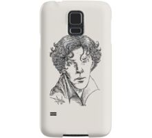 Portrait of a Consulting Detective Samsung Galaxy Case/Skin