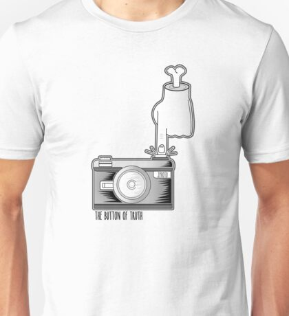 The Button of Truth Unisex T-Shirt
